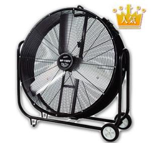 体育館・講堂の熱中症対策に大型扇風機