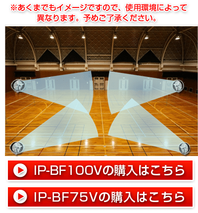 体育館(講堂・ホール)における大型扇風機「ビックファン」設置の目安